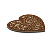 Picture of Hardboard Heart Shaped Coaster - Cork Back