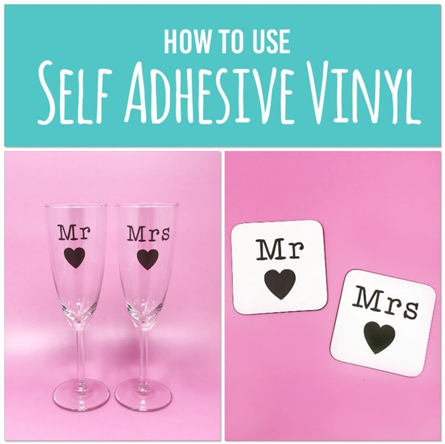 How To Use Self Adhesive Vinyl ❤👍
