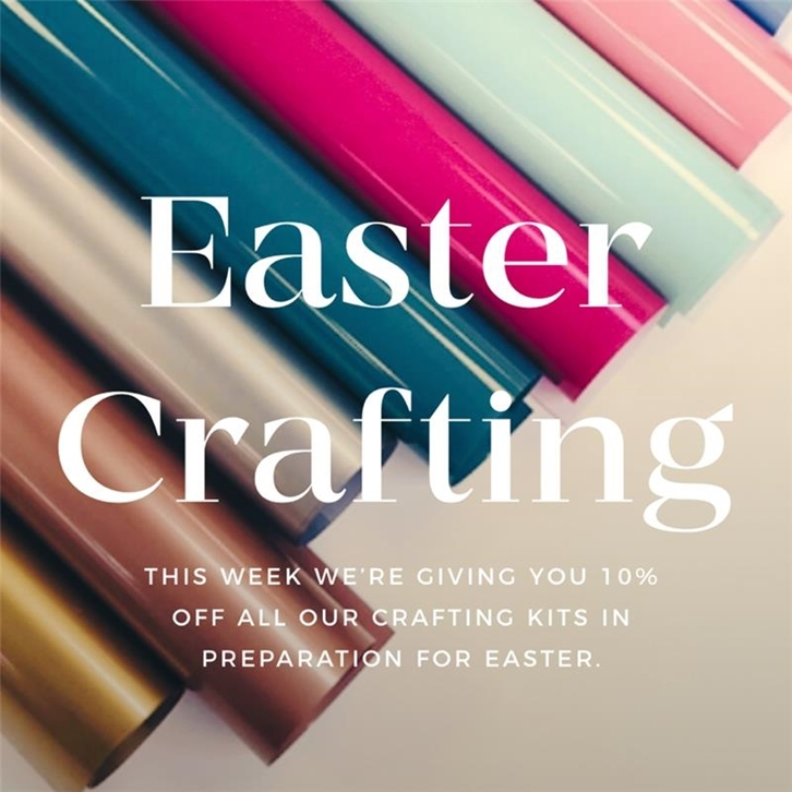 Easter Crafting - 10% Off All Kits 🐥🐇🌷