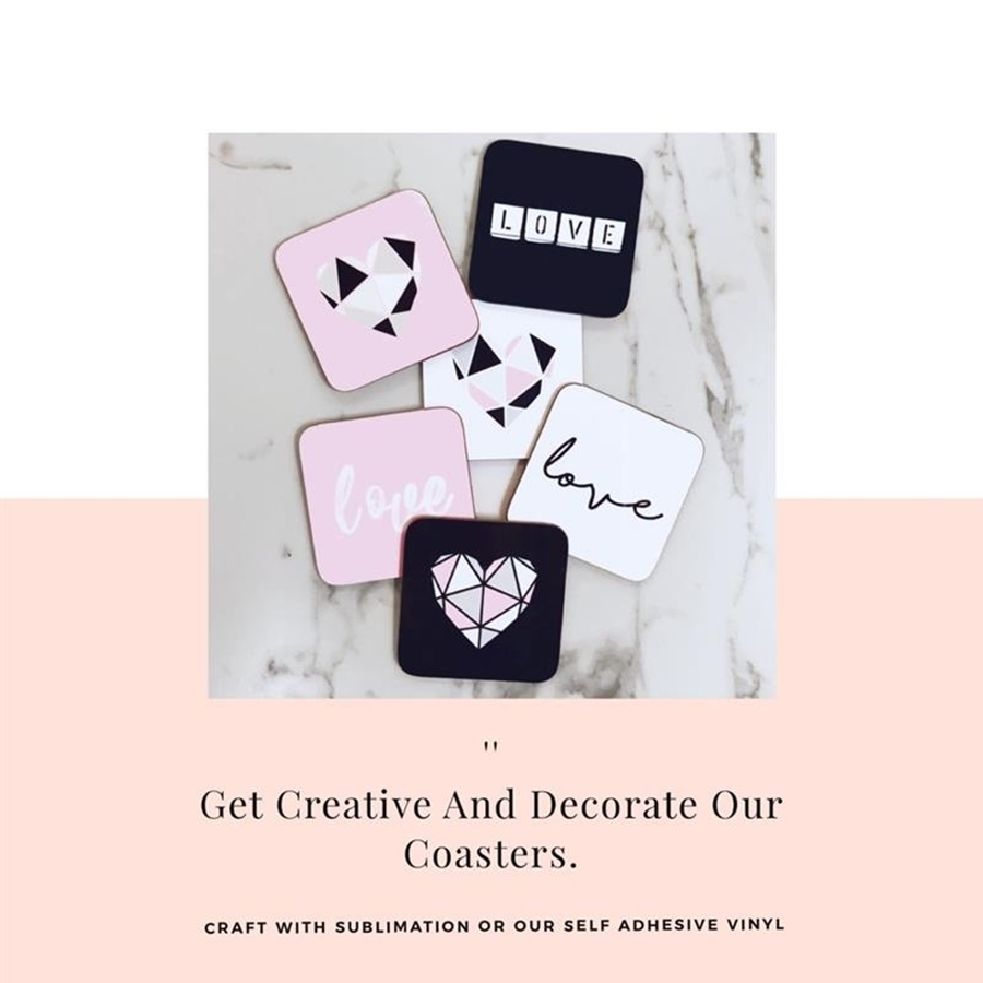 Get Creative & Decorate Our Coasters!